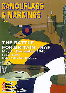 Guideline Publications Camouflage & Markings 2: The Battle For Britain-RAF May to December 1940
