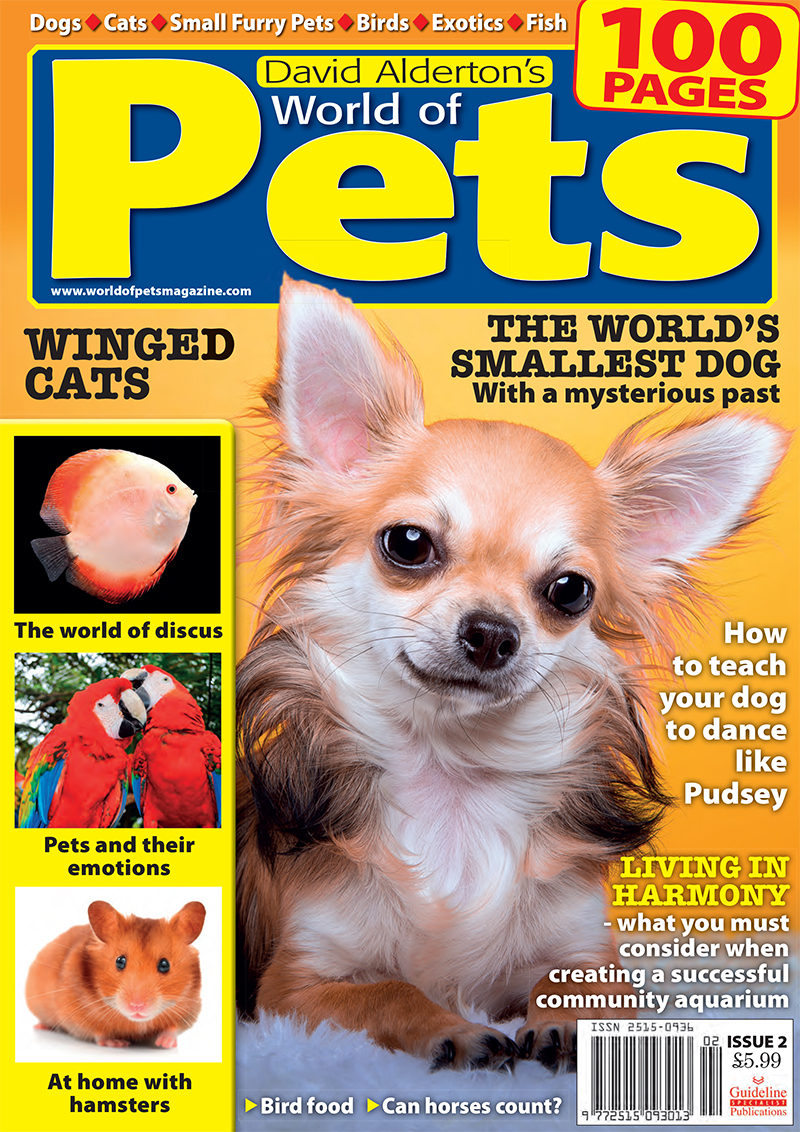 Guideline Publications World of Pets  Issue 2 edited by David Alderton