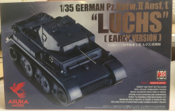 Guideline Publications Luchs 1/35 German Pz. Kpfw. II Ausf.L Asuka Model  - Luchs Early Version