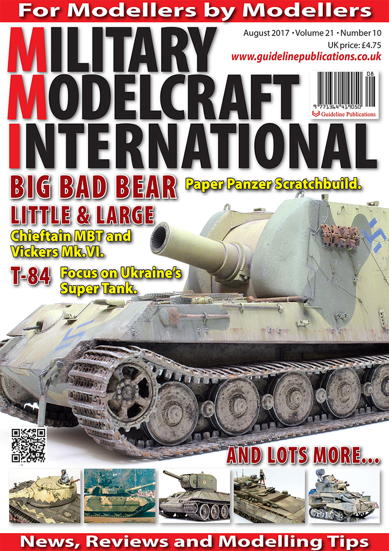 Guideline Publications Military Modelcraft August 2017 vol 21-10