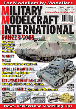 Guideline Publications Military Modelcraft November 2017