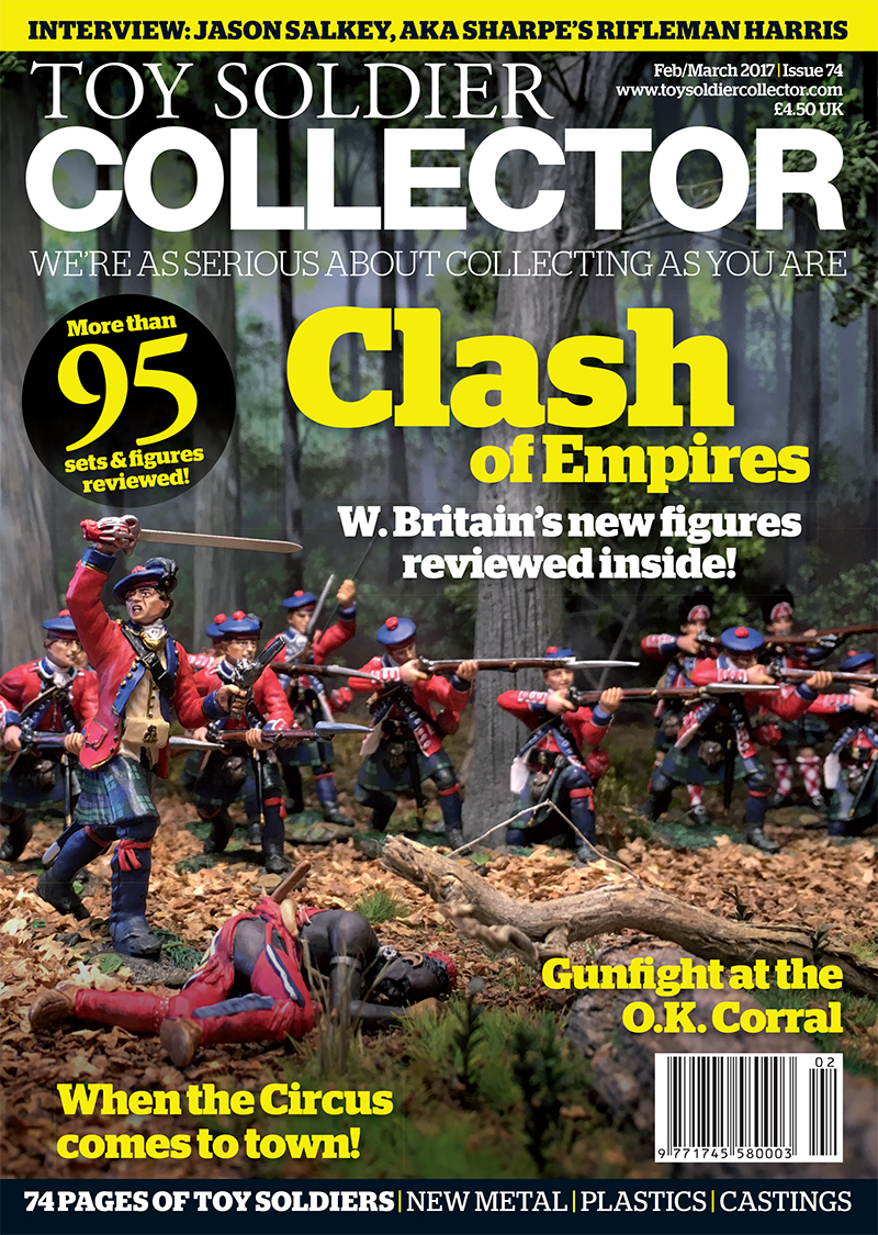 Guideline Publications Toy Soldier Collector #74 February / March 17