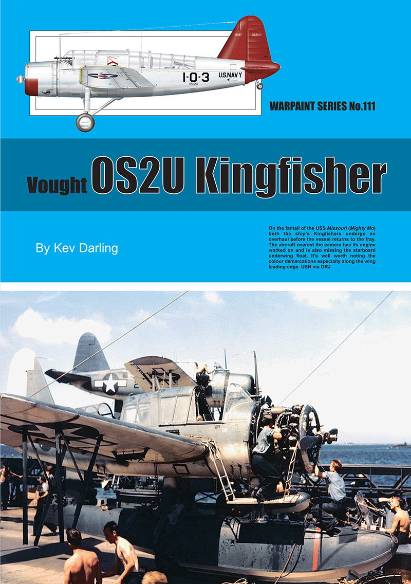 Guideline Publications No.111 OS2U Kingfisher No.111  in the Warpaint series