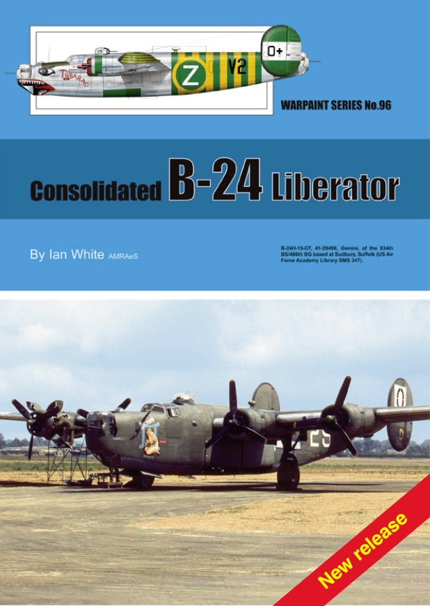Guideline Publications No 96 B24 Liberator No. 96 in the Warpaint series