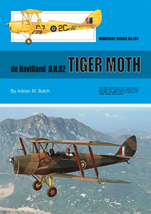 Guideline Publications No 101 de Havilland D.H.82 TIGER No.101  in the Warpaint series