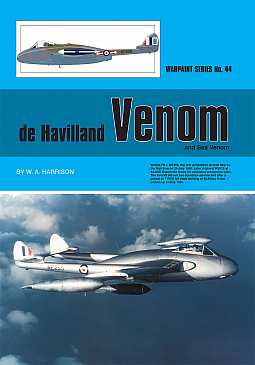 Guideline Publications No 44 de Havilland Venom & Sea Venom