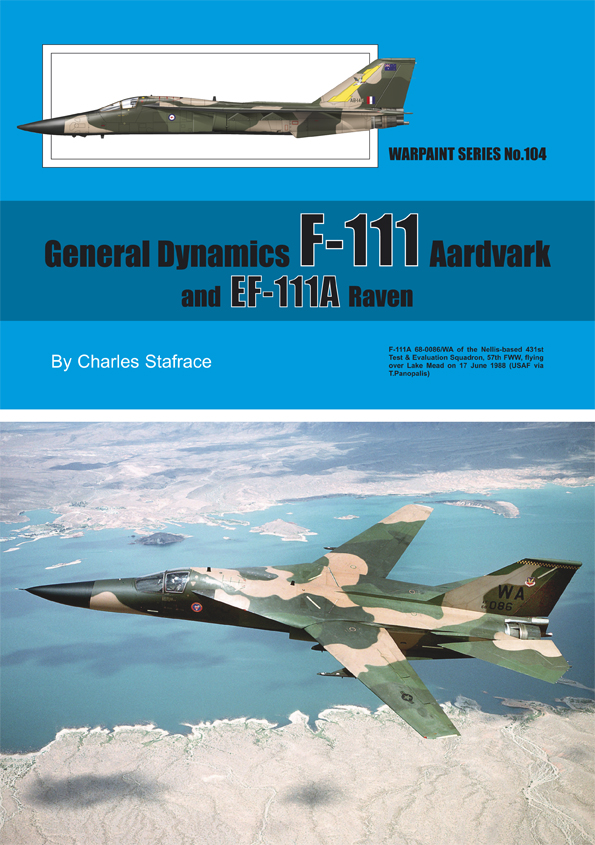 Guideline Publications No.104 General Dynamics F-111 No.104  in the Warpaint series