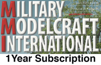 Guideline Publications Military Modelcraft International -  1 Year Subscription Subscription