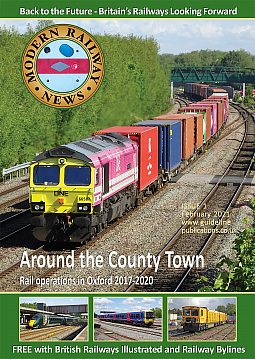 Guideline Publications Modern Railway News Issue 1 - Free Digital issue