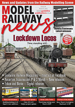 Guideline Publications Model Railway News August 20 issue 9