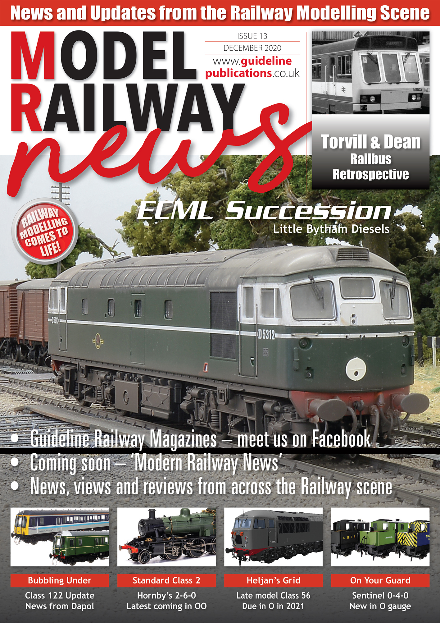 Guideline Publications Model Railway News issue 13 FREE DIGITAL ISSUE - December