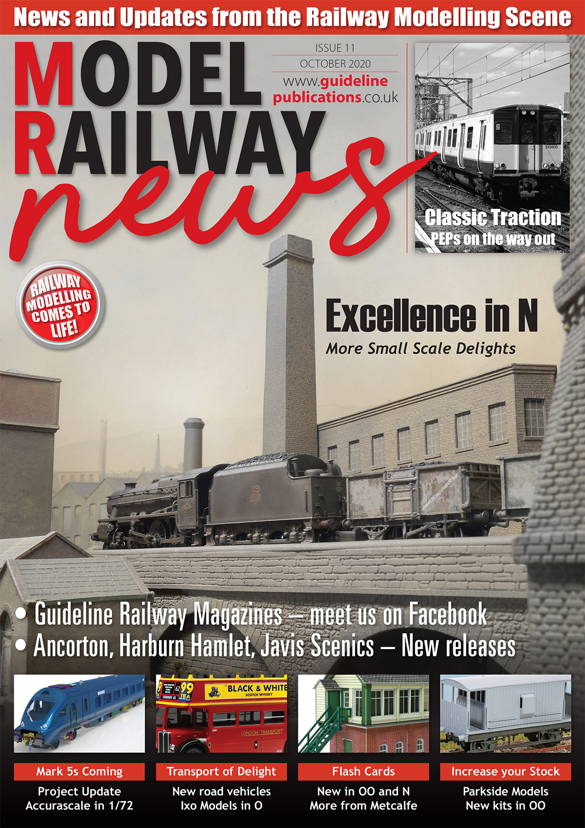Guideline Publications Model Railway News issue 11 FREE DIGITAL ISSUE - October