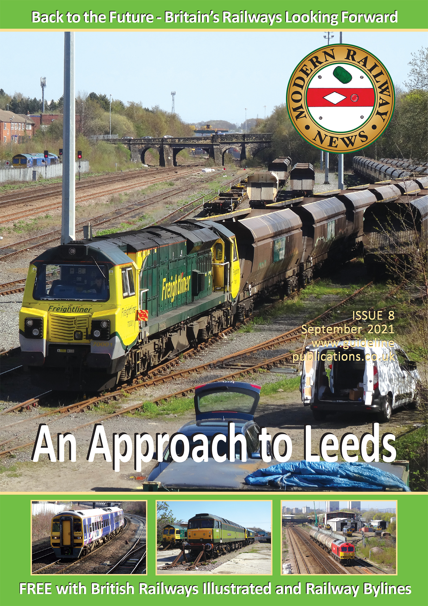 Guideline Publications Model Railway News September Issue 10 Sept 2020