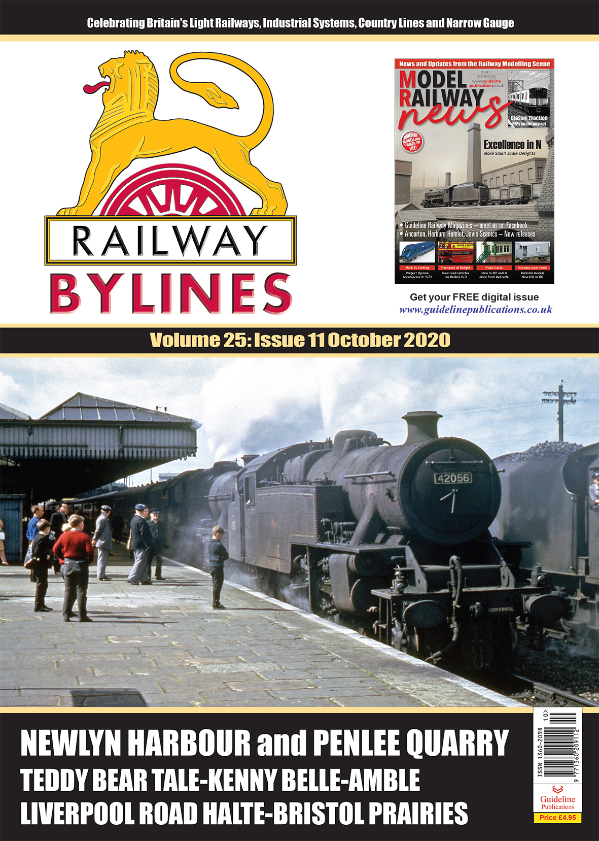 Guideline Publications Railway Bylines  vol 25 - issue 11 October 2020