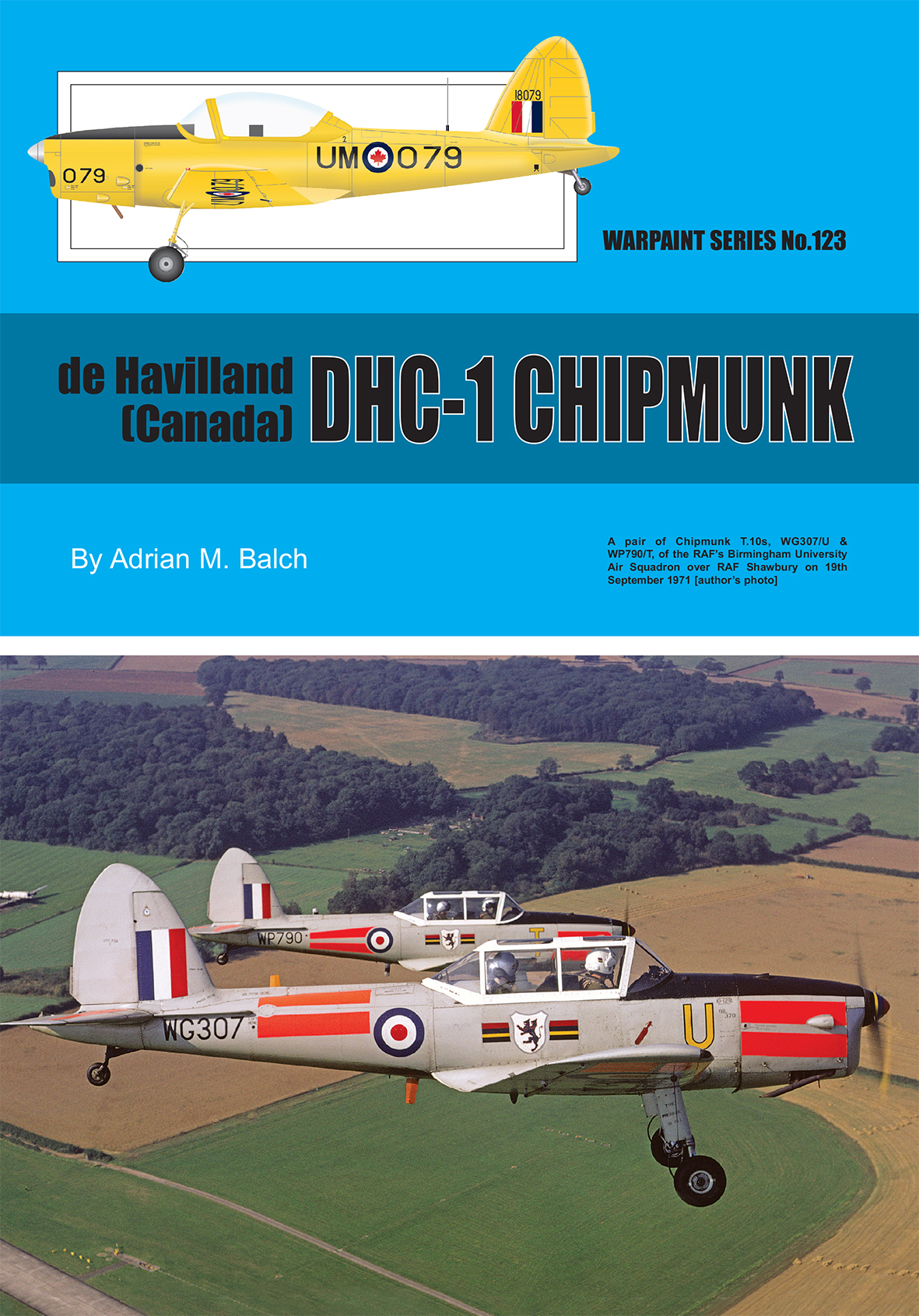 Guideline Publications 123 DHC-1 Chipmunk Warpaint 123